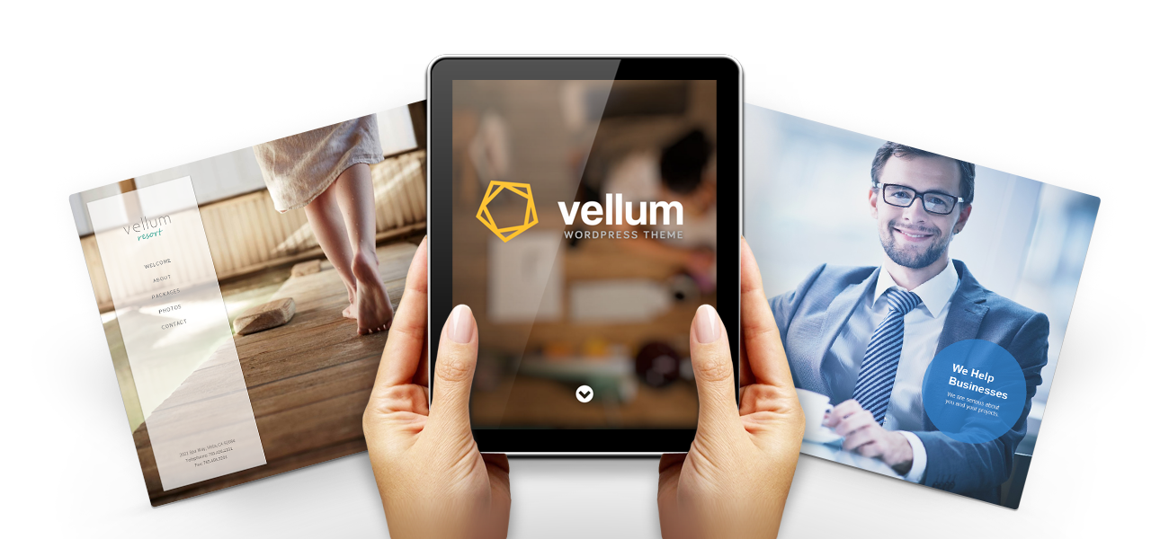 Vellum | A WordPress Theme by Parallelus